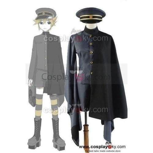 Vocaloid 2 Senbonzakura'S Brother Kagamine Rin/Len Military Uniform Cosplay Costume
