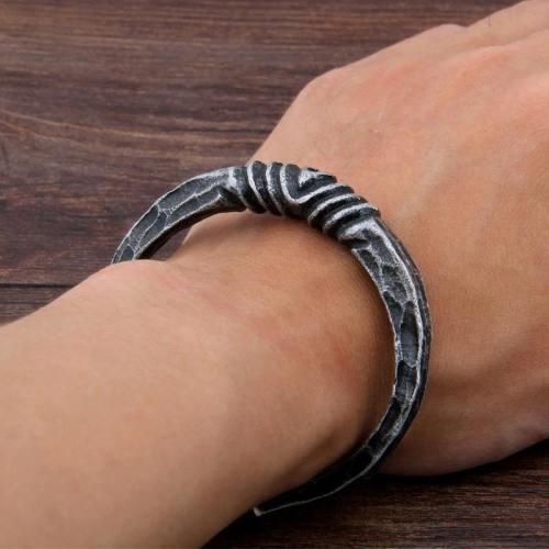 Twisted Iron Cuff Bracelet