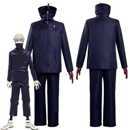 Jujutsu Kaisen-Toge Inumaki School Uniform Outfits Halloween Carnival Suit Cosplay Costume