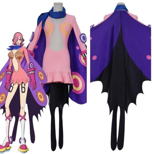 One Piece Vinsmoke Family Combat Suit-Vinsmoke Reiju Halloween Carnival Outfit Cosplay Costume