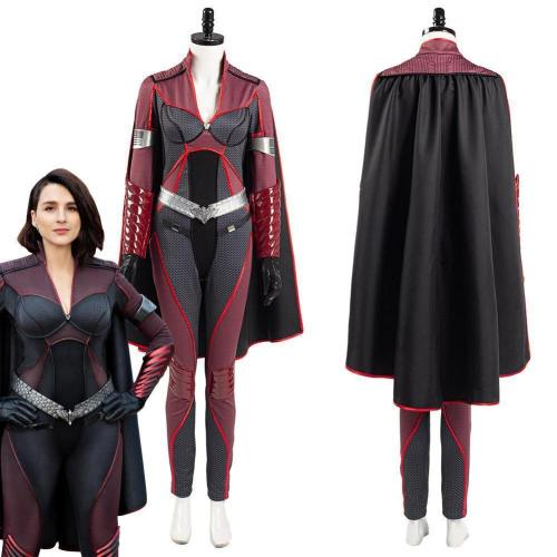 The Boys Season 2 Stormfront Women Jumpsuit Outfits Halloween Carnival Suit Cosplay Costume