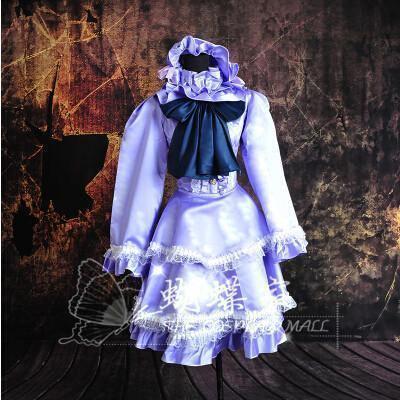 Scarlet Weather Rhapsody Patchouli Knowledge Cosplay Dress/Costume