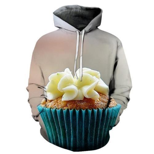 Cream Cupcake 3D Hoodie
