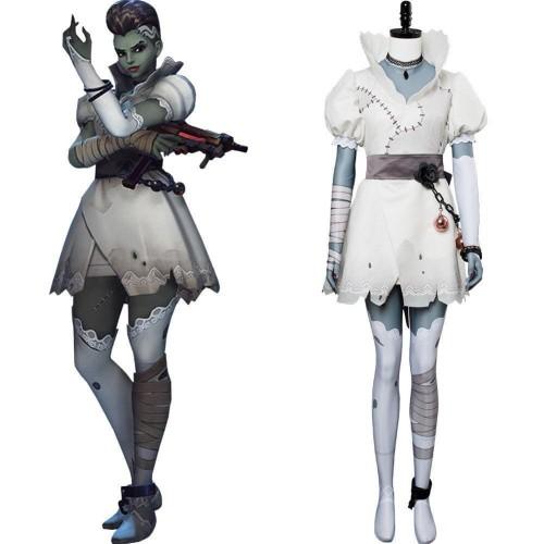 Overwatch Sombra Olivia Colomar Bride Skin Cosplay Costume