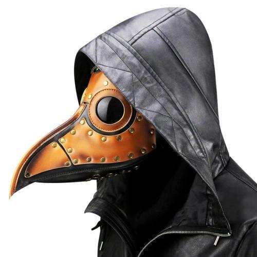 Plague Doctor Mask Long Nose Bird Steampunk Beak Mask Cosplay Props