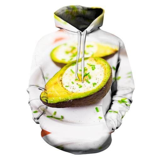 Baked Avocado 3D - Sweatshirt, Hoodie, Pullover