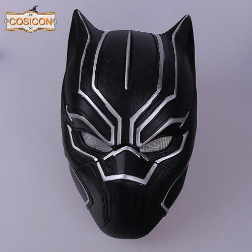 Captain American Black Panther Cosplay Mask