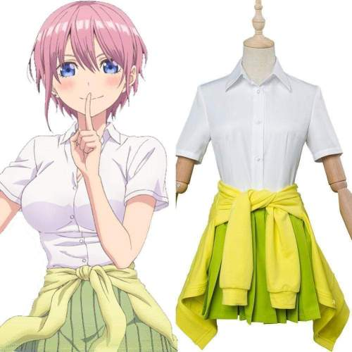 Anime The Quintessential Quintuplets Ichika Nakano Cosplay Costume
