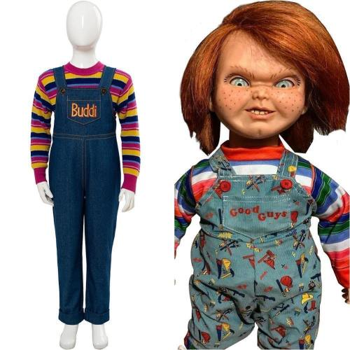 Child'S Play  Chucky Cosplay Costume For Kid