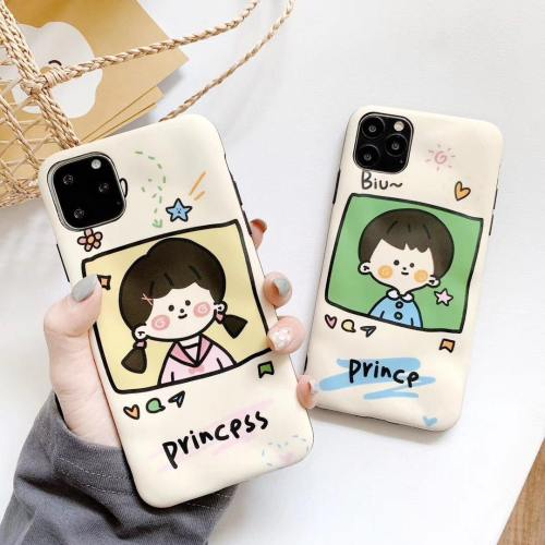 Ins Couple Matching Prince And Princess Phone Case