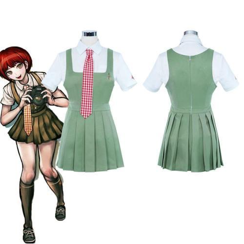 Super Danganronpa 2: Goodbye Desperate Academy- Mahiru Koizumi Uniform Dress Outfits Halloween Carnival Suit Cosplay Costume