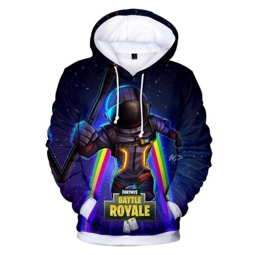 Fortnite Hoodie Space Man Painted Sweatshirt