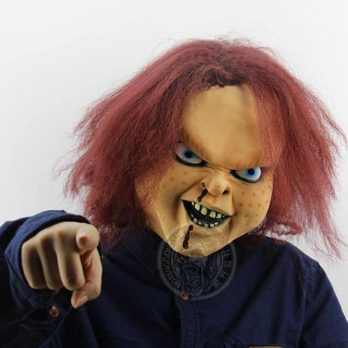 Halloween Party Chucky Mask Kito Latex Masks