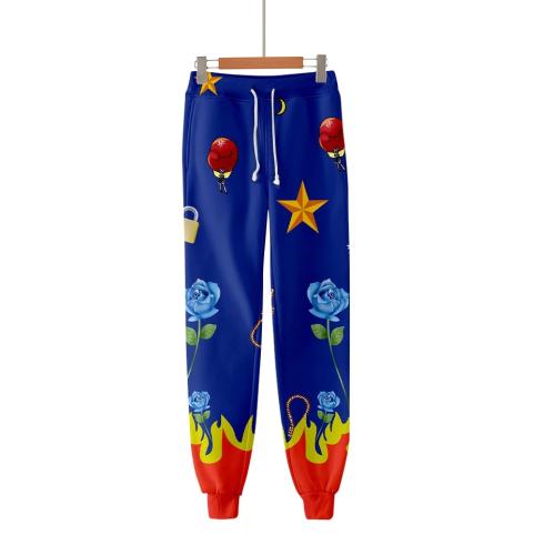 Bird Of Prey Harley Quinn Trousers Elastic Pencil Pants Party Costumes