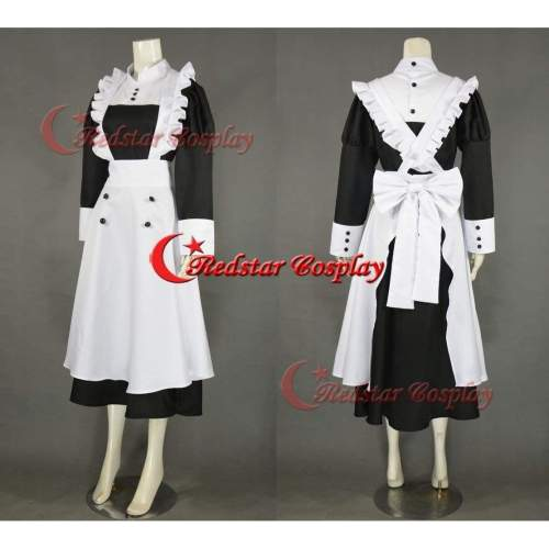 Merlin Maid Cosplay Costume From Black Butler Cosplay Custom In Any Size