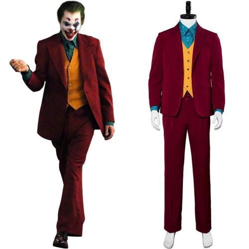 Joker  Joaquin Phoenix Arthur Fleck Cosplay Costume