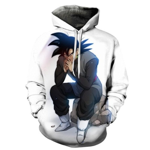 Dragon Ball Z Sitting Goku Pullover Hoodie