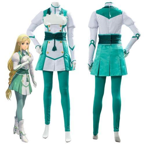Project Sakura War Claris Battle Uniform Outfit Cosplay Costume