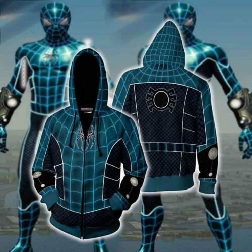 Spider-Man Hoodie - Zip Up Hoodie
