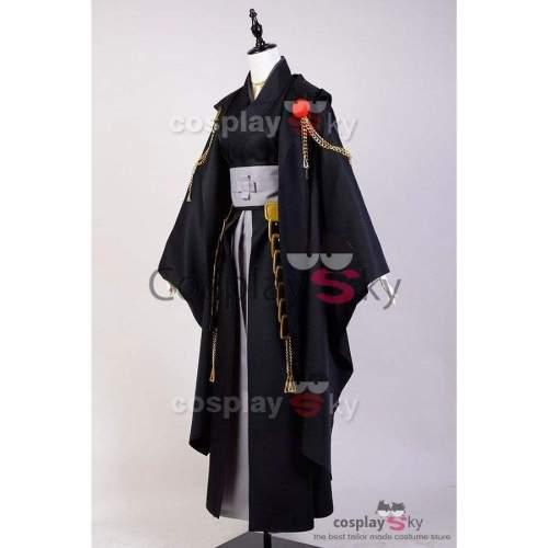 Touken Ranbu Tsurumaru Kuninaga (Black) Uniform Cosplay Costume