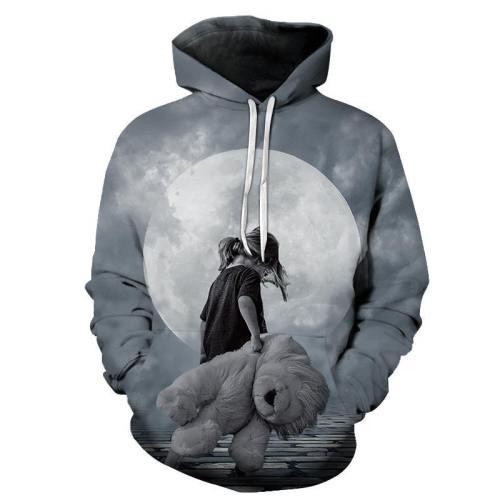 A Child'S Best Friend 3D - Sweatshirt, Hoodie, Pullover