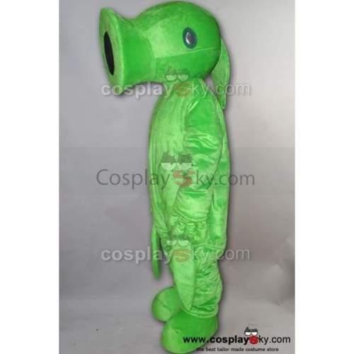 Pea Of Plants Vs. Zombies Pvz Mascot Costume Adult Size