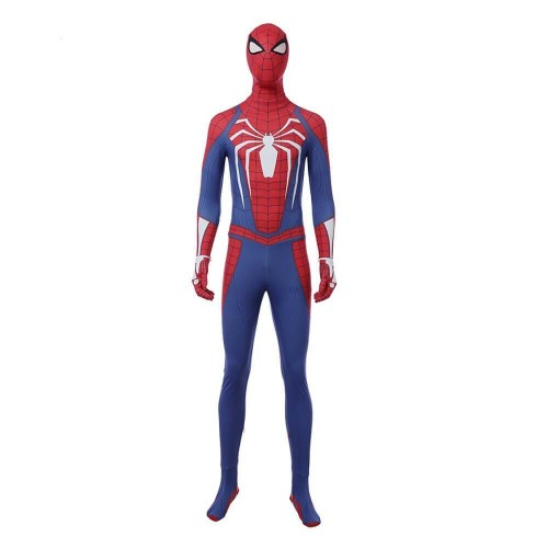 New Ps4 Insomniac Marvel'S Spider Man Suit Halloween Party Spiderman Costume