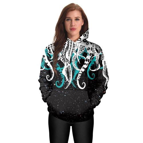Octopus Hoodie Fashion Sweatshirt For Men And Women