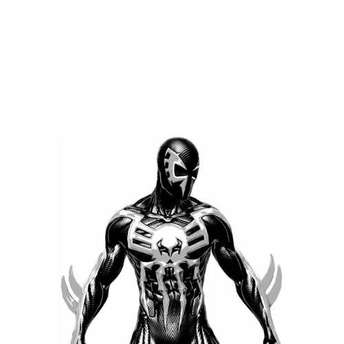 Spider-Man: Into The Spider-Verse Spider Man  Black Suit Cosplay Costume