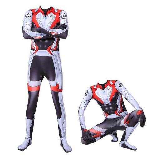 The Avengers Quantum Warfare Garment Superhero Jumpsuit Costume