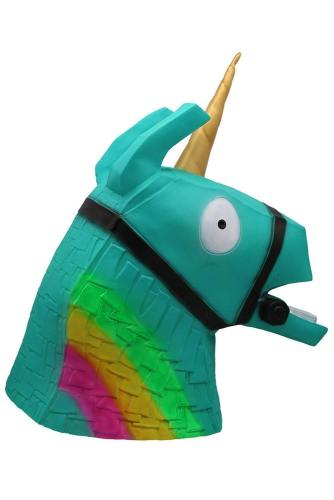 Fortnite Mask Green Rainbow Horsehead Helmet Halloween Mask