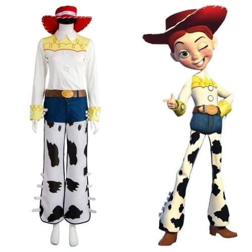 Toy Story Jessie Outfit  Cosplay Costume
