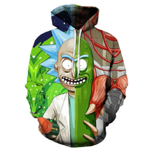 Rick And Morty Pullover Hoodie Csos858
