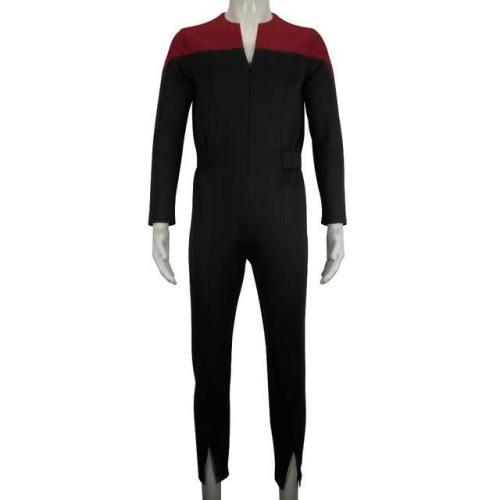 Star Trek Deep Space Nine Commander Sisko Duty Uniform Jumpsuit Cosplay Costumes