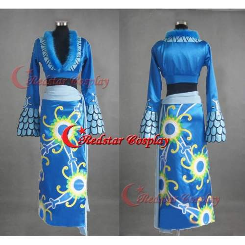 One Piece Seven Warlords Of The Sea Pirate Empress Snake Princess Boa Hancock Cosplay Costume