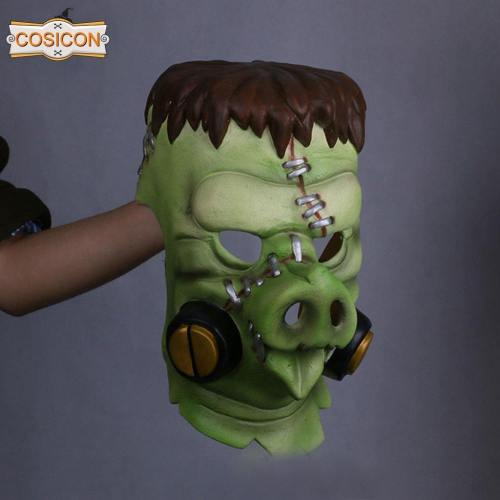Overwatch Roadhog Cosplay Mask Halloween  Prop
