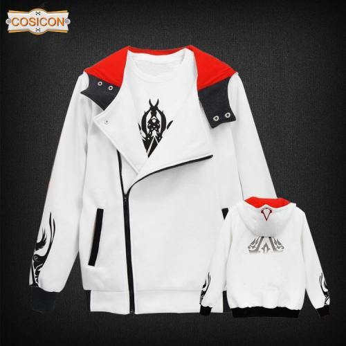 Assassin'S Creed Cosplay Hoodie Sweatshirt Zipper Hoodies