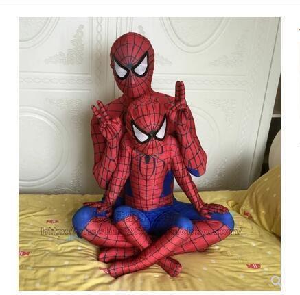 Spiderman Costume Spider Man Suit Spider-Man Jumpsuits Costumes For Adults Children Kids