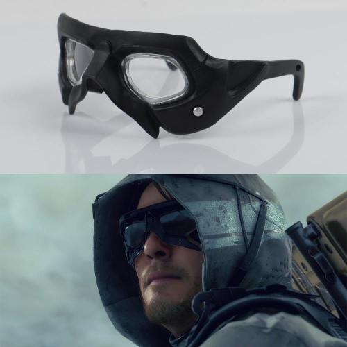 Cosplay Death Standing Sam Brifges Ludens Mask Sunglasses Cosplay Accessories Pvc Glasses Prop
