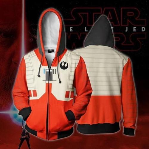 Star Wars Darth Vader Men Sweatshirts Hoodie Cosplay Costume Jackets Zipper Hoded