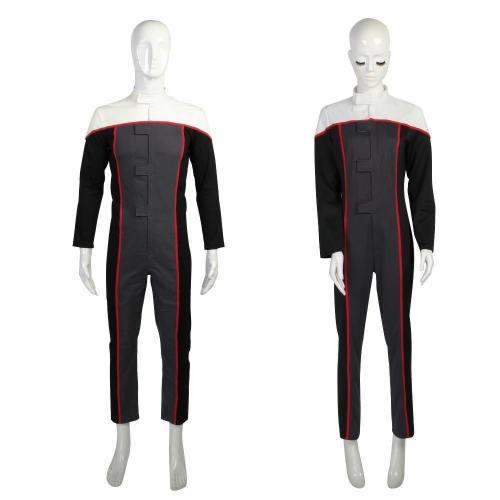 Star Trek Voyager Racing Suit Jumpsuit Drive Costumes Full Set Man Woman Costume Halloween Cosplay Costume