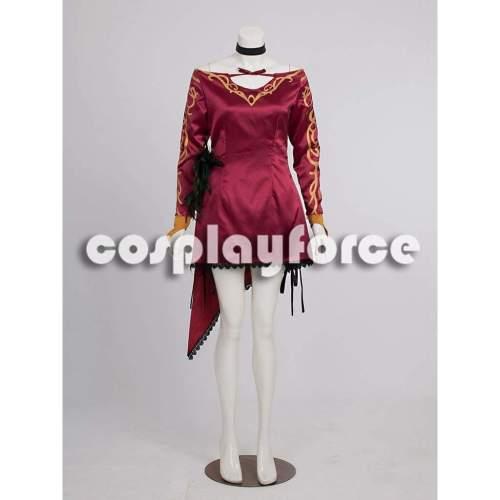 RWBY Antagonist Cinder Fall Cosplay Costume mp002155