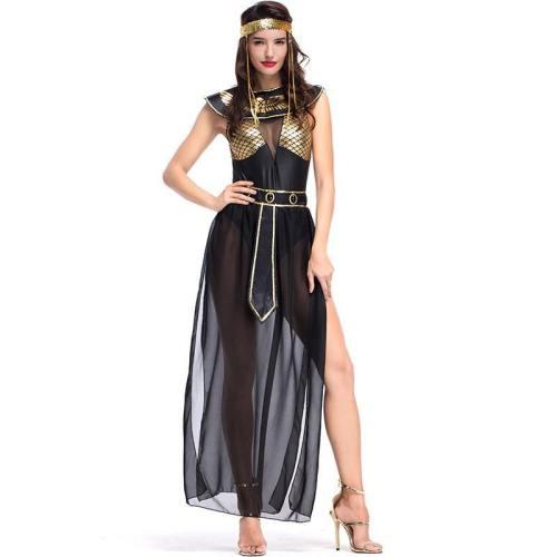 Adult Women Sexy Dress Hot Egyptian Royal Cleopatra Halloween Costume