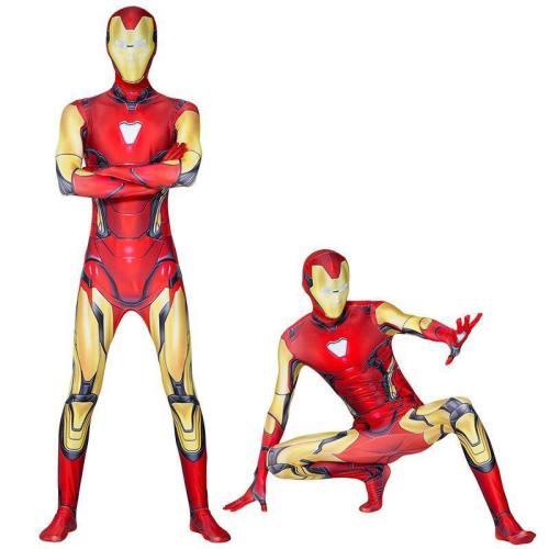 Iron Man Jumpsuit Costume The Avengers Cosplay Boys Halloween Costumes