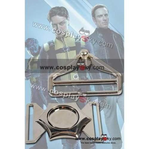 X-Men First Class Costume Belt Buckle Pin Set