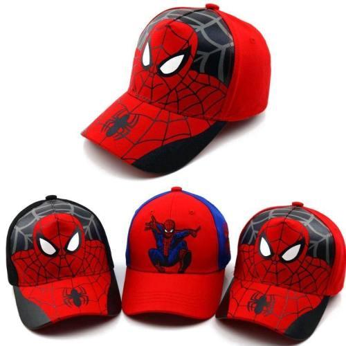 Spiderman Cartoon Baby Cotton Baseball Caps Kids Snapback Hip Hop Hats