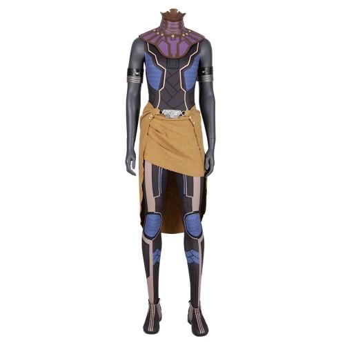 Black Panther Shuri Costume Women Girls Halloween Cosplay Costume Avengers Infinity War Okoye Costume Suit