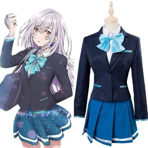Irozuku Sekai No Ashita Kara Hitomi Tsukishiro Cosplay Costume