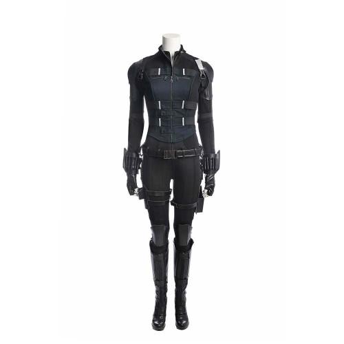 Avengers Infinity War Black Widow Costume