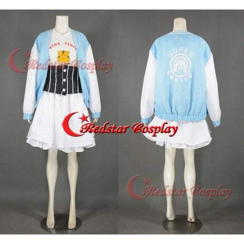 Super Sonico Cosplay Costume From Super Sonico Tiger Style